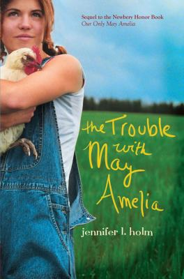 book cover, The Trouble with May Amelia